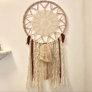 handmade dreamcatcher/wall hanging